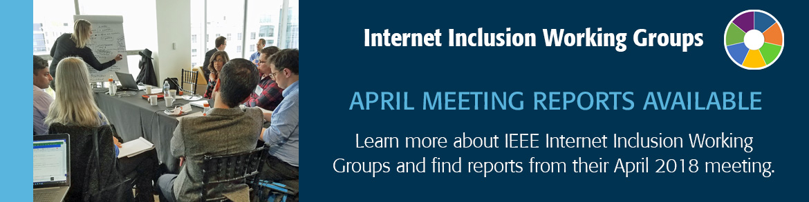 Internet Inclusion Working Groups