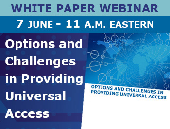 Options and Challenges in Providing Universal Access webinar