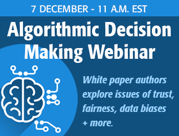 algoritmic decision making webinar