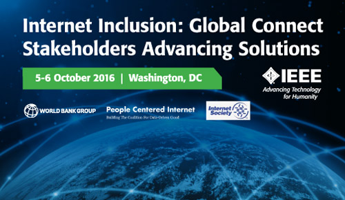 Internet Initiative: Global Connect Stakeholders Advancing Solutions